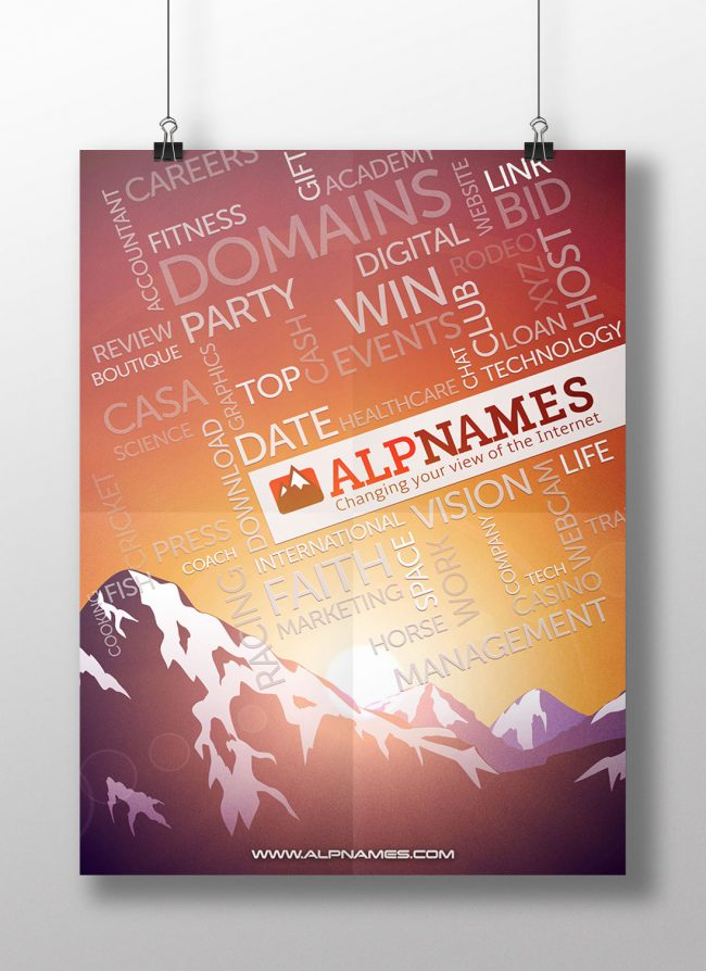 Alpnames.com poster (for internal use)