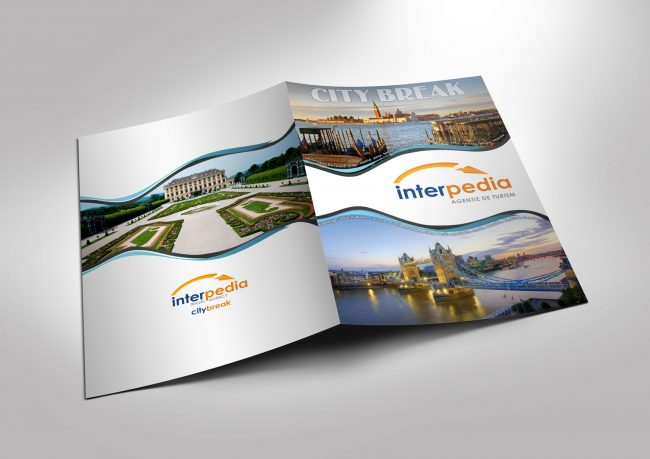 Catalog design proposal for Interpedia tourism agency