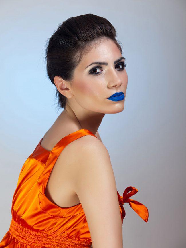 Make-up & clothing showcase | Model: Mirela | Makeup: Maria Lihacheva