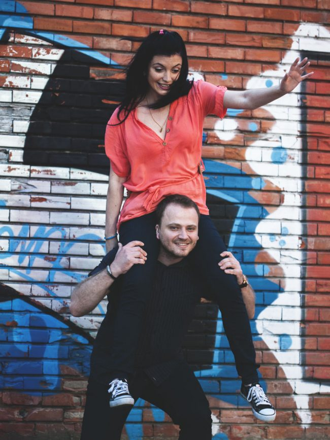 Adriana and Andrei photo shoot